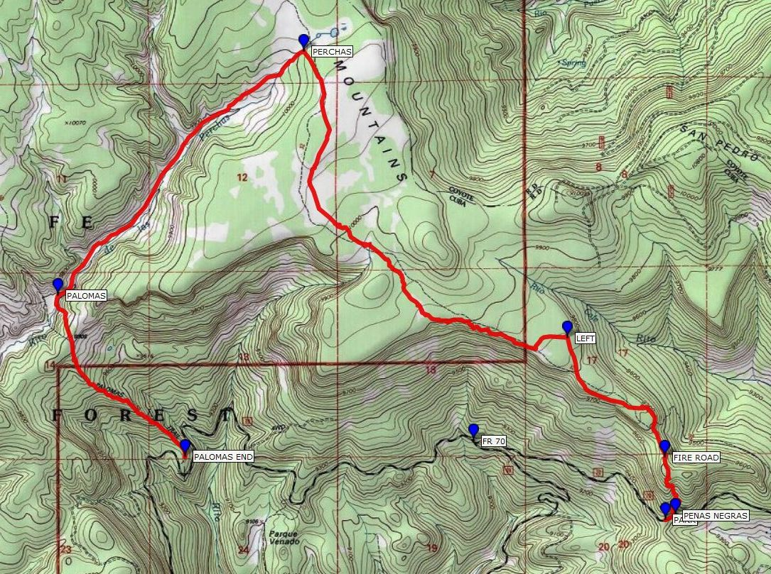 GPS Visualizer Map Image Example