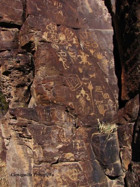 Cieneguilla Petroglyphs